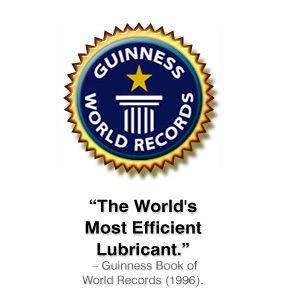 """The World's Most Efficient Lubricant."" Guinness Book of World Records (1996)."